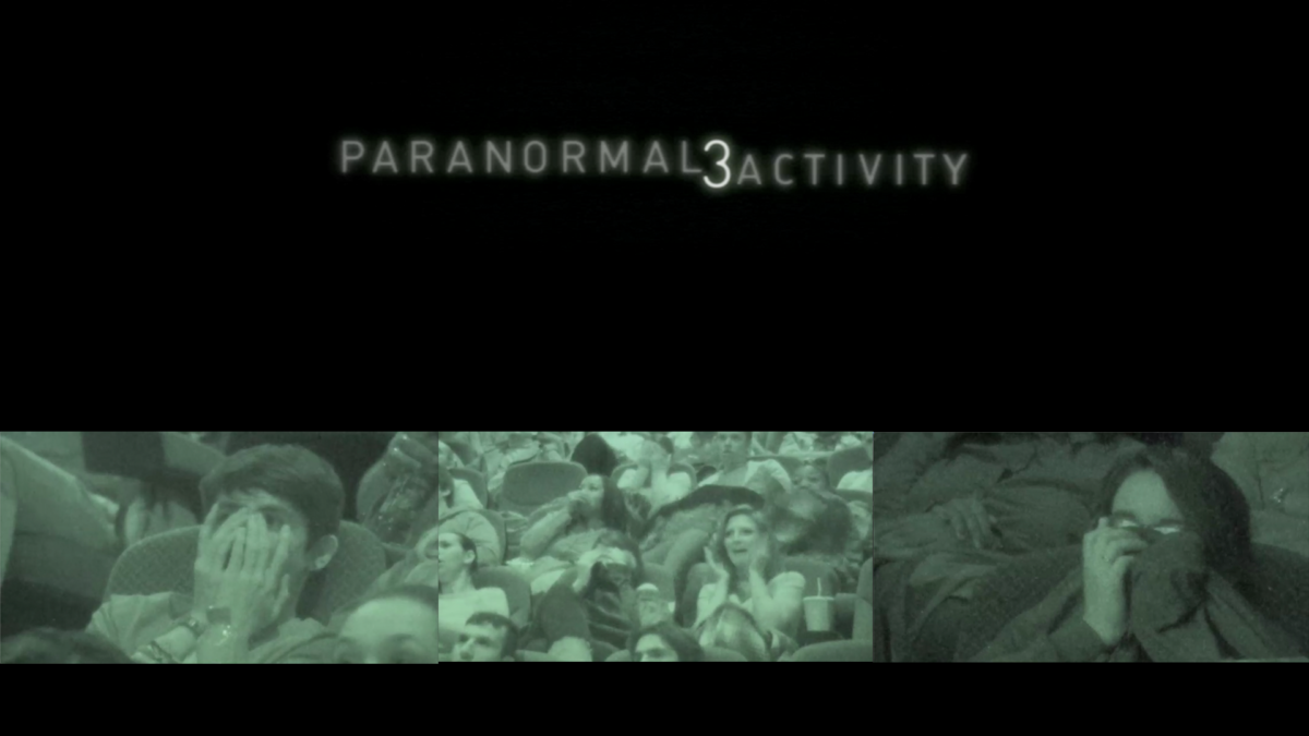 Commercial production for Hollywood Film Paranormal Activity